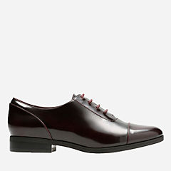 Tilmont Ivy Burgundy Leather womens-artisan