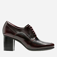 Kensett Darla Burgundy Leather womens-heels