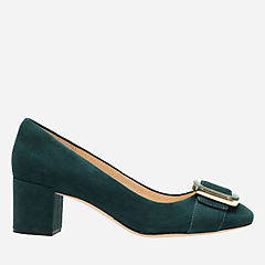 Orabella Fame Emerald Suede womens-dress-shoes