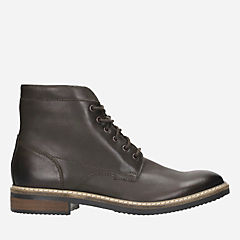 Blackford Hi Dark Brown Leather mens-ortholite