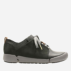 Tri Bella Black Combi Leather womens-active