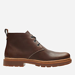 Trace Flare Mahogany leather mens-casual-boots