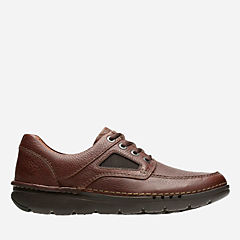 Unnature Time Brown Tumbled Leather mens-unstructured