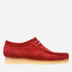 Wallabee Red Suede originals-mens-shoes