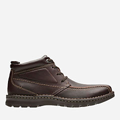 Vanek Rise Brown Oily Leather mens-boots