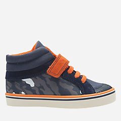 Juggle Sam First Navy Canvas boys-sneakers