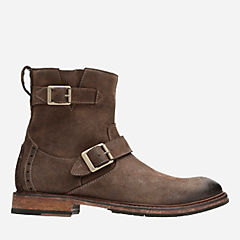 Clarkdale Cash Brown Nubuck mens-casual-boots