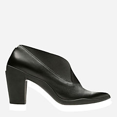 Adya Luna Black Leather womens-ortholite