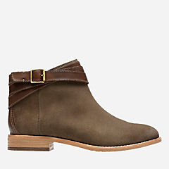 Maypearl Edie Olive Suede and Leather womens-ortholite