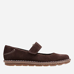 Tamitha Aster Dark Brown Suede womens-collection