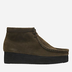 Wallabee Wedge Peat Nubuck originals-womens-boots