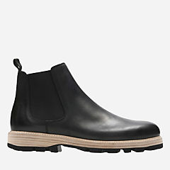 Lorwin Mid Black Leather sale-mens-boots