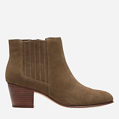 Maypearl Tulsa Olive Suede womens-boots