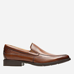 Tilden Free Dark Tan Leather mens-loafer-slip-on