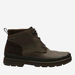 Rushway Mid GTX Dark Brown Leather mens-waterproof-boots