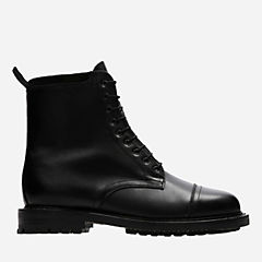 Craftmaster III Black Leather mens-high-boots
