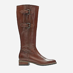 Tamro Spice Tan Leather womens-knee-boots