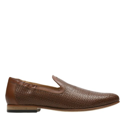 Form Step Tan Weave mens-dress-shoes