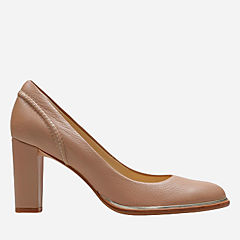 Ellis Edith Nude Leather womens-dress-shoes