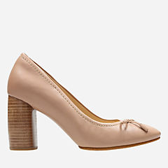 Grace Nina Nude Leather womens-kitten-heels