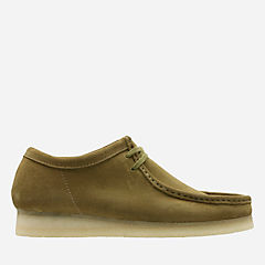 Wallabee Olive Suede originals-wallabee