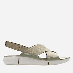 Tri Chloe Light Green Nubuck womens-flat-sandals