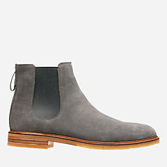 Clarkdale Gobi Grey Suede mens-casual-boots