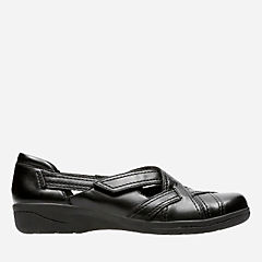 Cheyn Wale Black Leather womens-shoes