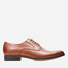 Conwell Plain Tan Leather mens-dress-shoes