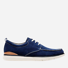 Edgewood Mix Blue Suede mens-casual-shoes