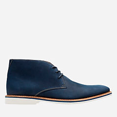 Atticus Limit Navy Nubuck mens-casual-boots
