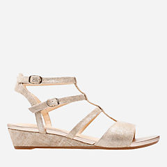 Parram Spice Gold Suede womens-sandals-wedge