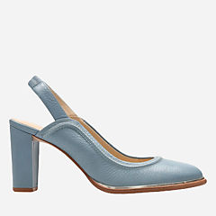 Ellis Ivy Blue Leather womens-dress-shoes