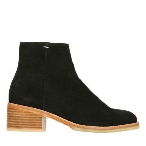 Amara Boot Black Suede originals-womens