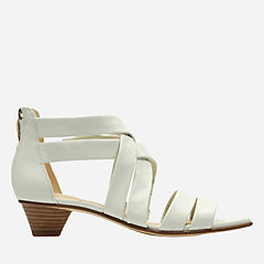 Mena Silk White Leather womens-view-all