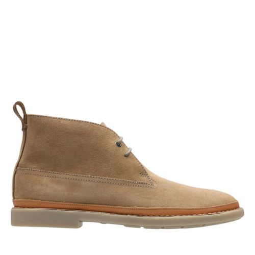 Trace Seam Sand Suede mens-casual-boots