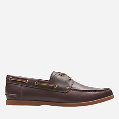 Morven Sail British Tan Lea mens-casual-shoes