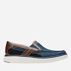 Un Abode Free Navy Nubuck mens-unstructured
