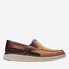 Un Abode Free Light Tan Leather mens-unstructured