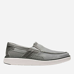 Un Abode Free Grey Nubuck mens-unstructured