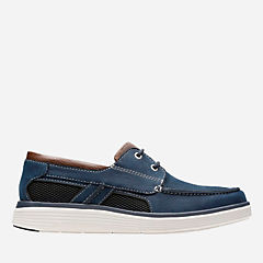Un Abode Step Navy Nubuck mens-unstructured
