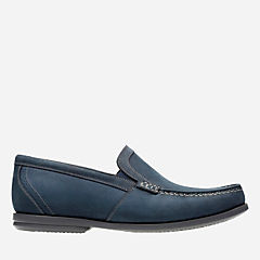 Un Gala Free Navy Nubuck mens-unstructured