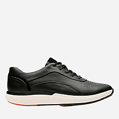 Un Cruise Lace Black Leather womens-wave-walk
