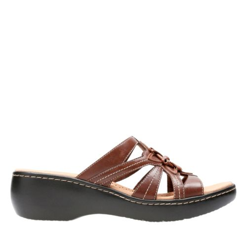 Delana Venna Brown Multi womens-clogs