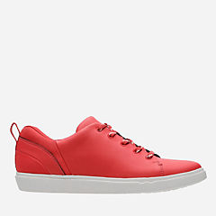 Step Verve Lo. Red Microfiber womens-cloudsteppers-view-all