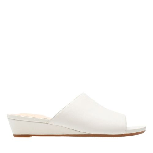 Parram Waltz White Leather womens-sandals-wedge