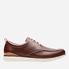 Edgewood Mix Mahogany Tumbled Leather mens-casual-shoes