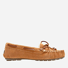 Audrianna Brie Cognac womens-slippers