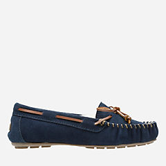 Audrianna Brie Navy womens-slippers