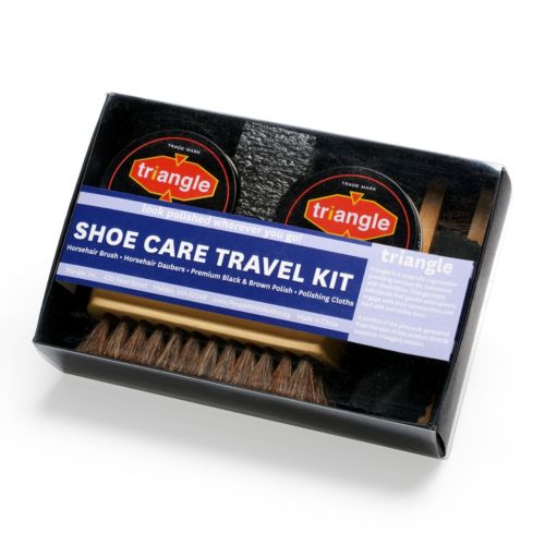 Triangle Shoe Care Kit Multicolor Womens Accessories View All